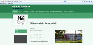 Homepage Startseite GGS St. Barbara