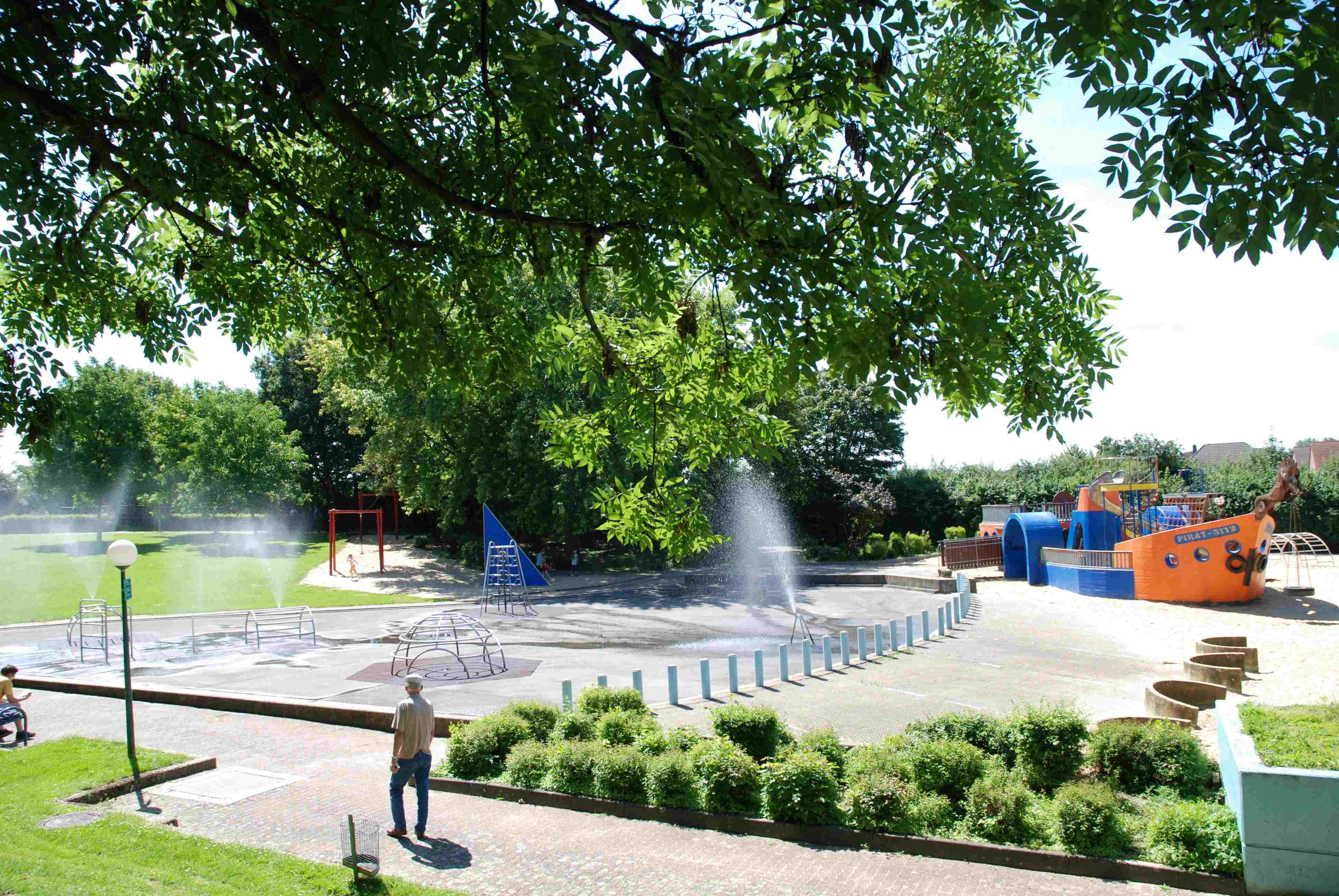 Wasserspielplatz Parkstraße