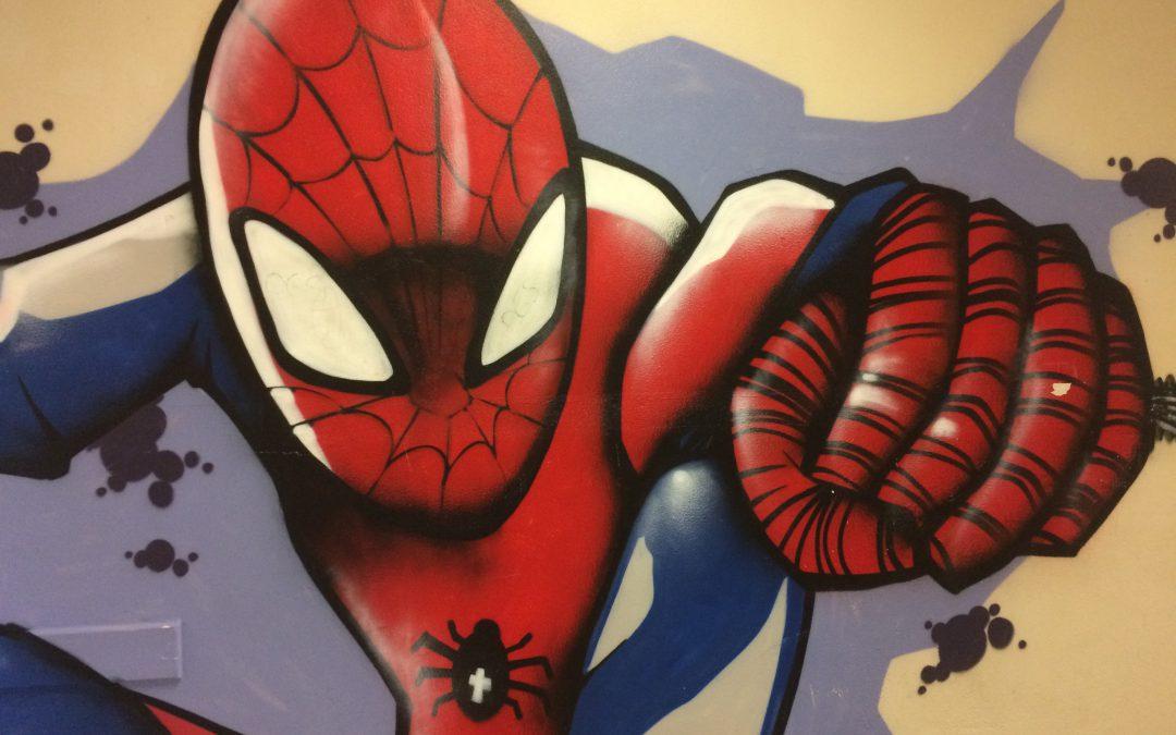 Graffiti in der Goetheschule