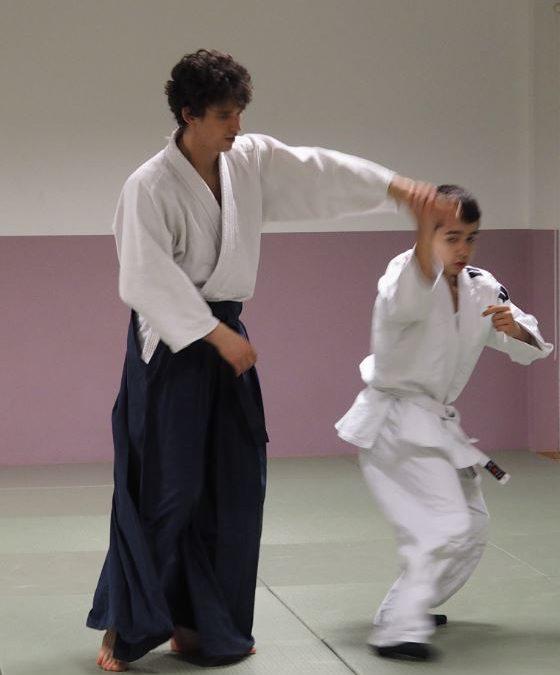 Aikido-Training für Kinder und Jugendliche im Haus Setterich, Stadtteilbüro DRK