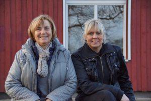 von links nach rechts: Brigitte Ehlers und Rita Gleich