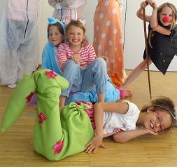 Theaterworkshop für 8 bis 12 jährige: Sommerferienangebot im Haus Setterich (14. – 18.August, 10:00 – 15:00 Uhr)