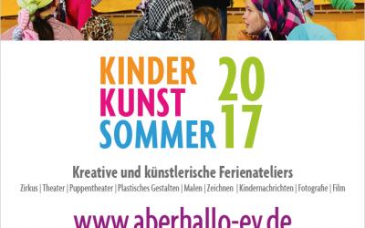 KinderKunstSommer 2017
