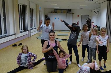 Tanzen für Kinder und Jugendliche im Haus Setterich