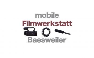 1 Jahr mobile Filmwerkstatt in Baesweiler