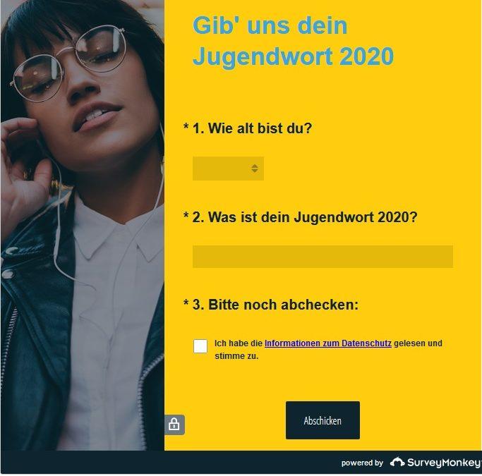Gesucht wird: Das Jugendwort des Jahres 2020