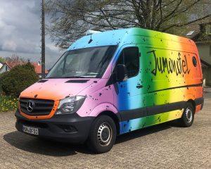 Das Jugendmobil Nordeifel - kurz: Jumonofel