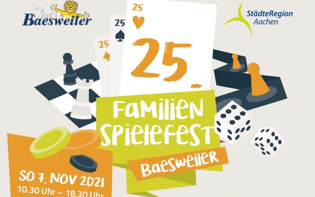 25. Familienspielefest Baesweiler